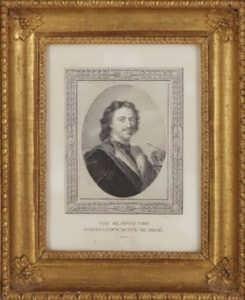 Петр I Великий. Портрет. 1817г. Беннер/Мекку. Антикварная гравюра.