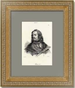 Пётр I. 1838г. Верне/Море. Старинная гравюра. Антикварный подарок