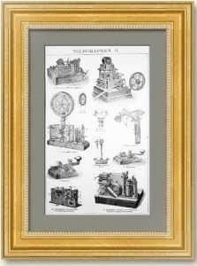 Телеграфы II. 1896г. Антикварная гравюра
