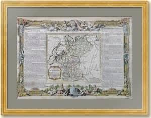1766г. Россия Европейская. Старинная карта. Музейный экземпляр