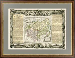 1771г. Россия Азиатская и Великая Тартария. 1771г. Старинная карта.