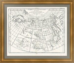 Заморские колонии России. Аляска, Калифорния, Сахалин. 1772г. Музейный экземпляр, ВИП подарок