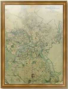Ленинград, план города. 1940г. Лист 81х62