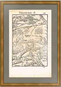 Сарматия и Тартария  1568г. Мюнстер. Французский вариант