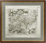 Сарматия и Тартария Пустынная. 1830г. Старинная историческая карта античных российских территорий