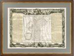 1771г. Россия Европейская. Старинная карта. Музейный экземпляр