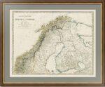 Россия, Швеция, Норвегия 1834г. (SDUK I)