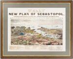 1855 Севастополь - план