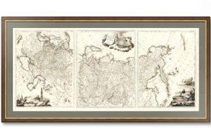 Tabula Geographica Generalis Imperii Russici