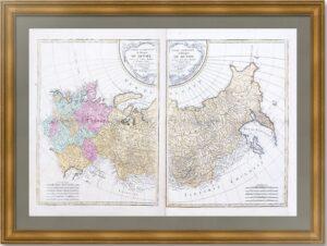Российская  империя. 1785г. (1789) Коллекционный экземпляр. Третье состояние