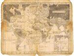 Карта обитаемого мира. 1823г.