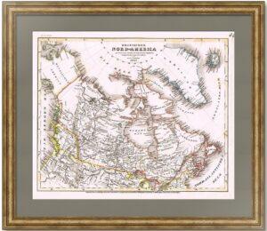 Америка русская и британская. 1847г. Радефельд.