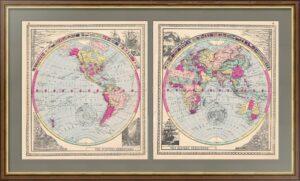 1885 Planisphere