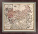 Российская империя и вся Тартария. 1739г. Хасе/Хоманн. Старинная редкая карта
