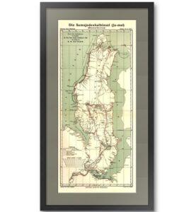Ямал (56x27) Житков. 1911г. Старинная карта