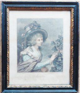 Осень. 1780г. Бартолоцци по Уэстоллу. Старинная гравюра