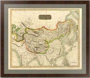 Тартария. 1814г. Старинная карта