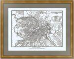 Санкт-Петербург. 1889г. Антикварный план города